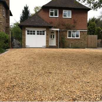 gravel driveways Bourne End