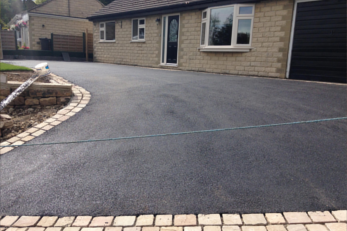 cracked tarmac driveway repair in Little Gaddesden