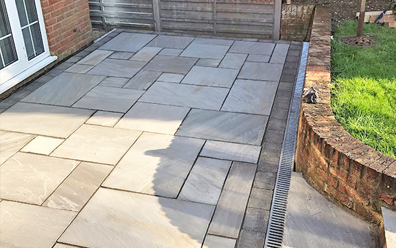 Shenley patio installers